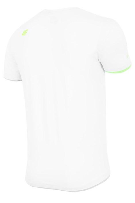Męski T-shirt sportowy 4F White
