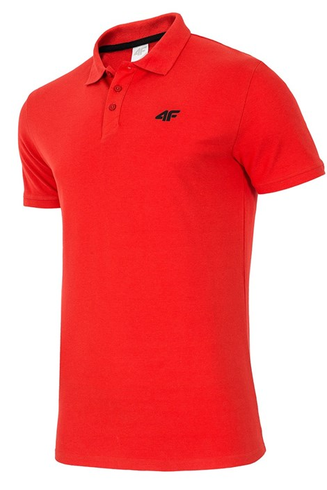 Męska koszulka poko 4F Red 100% bawełny