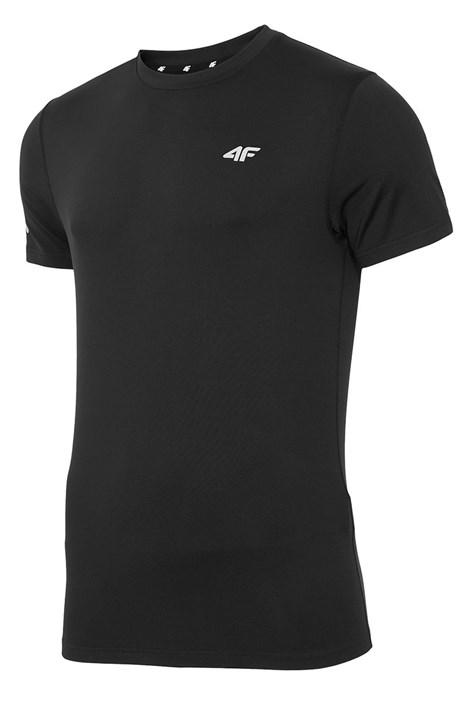 Męski T-shirt fitnessowy 4F Dry Control Black