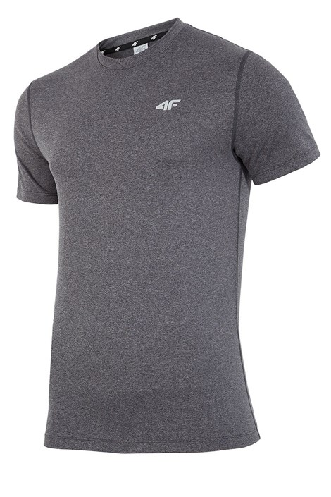 Męski T-shirt fitnessowy 4F Dry Control Melange
