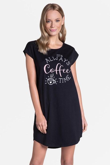 Damska koszula nocna Coffee Time