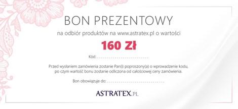 Bon prezentowy 160 zł