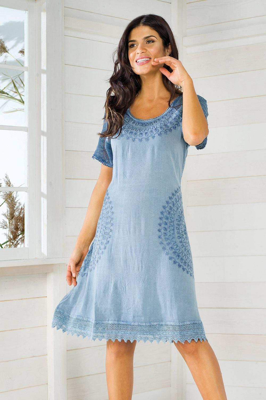 286f2ddd5a Włoska sukienka na lato Iconique IC8064
