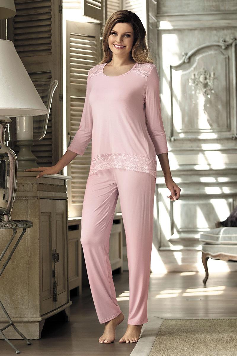 6b51b7bd25048f Elegancka piżama damska Olimpia Pink | Astratex PL