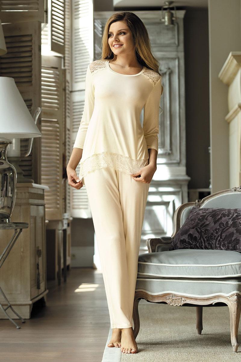 88b99487d5ff55 Elegancka piżama damska Olimpia | Astratex PL