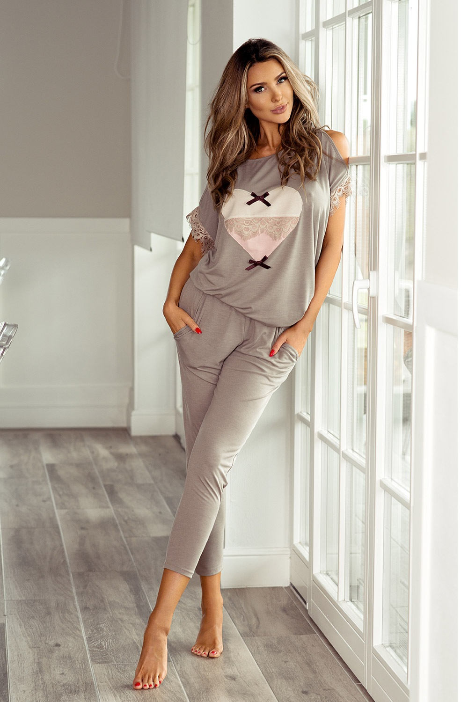 3f98be0df95e31 Elegancka damska piżama Patrizia | Astratex PL