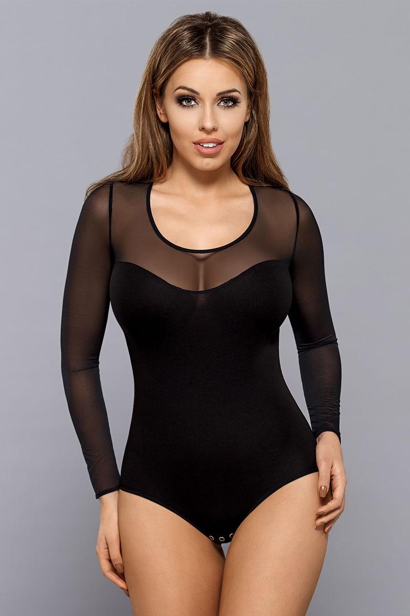 a09bb86ee406a5 Body damskie Ali czarne | Astratex PL