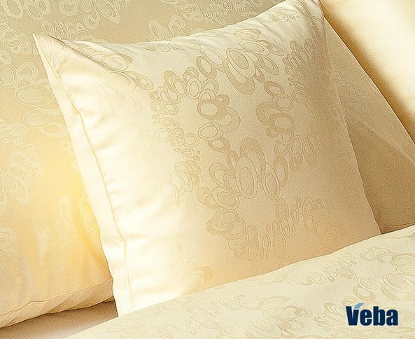 Poszewka na poduszeczkę VEBA Geon Bąbelki żółta