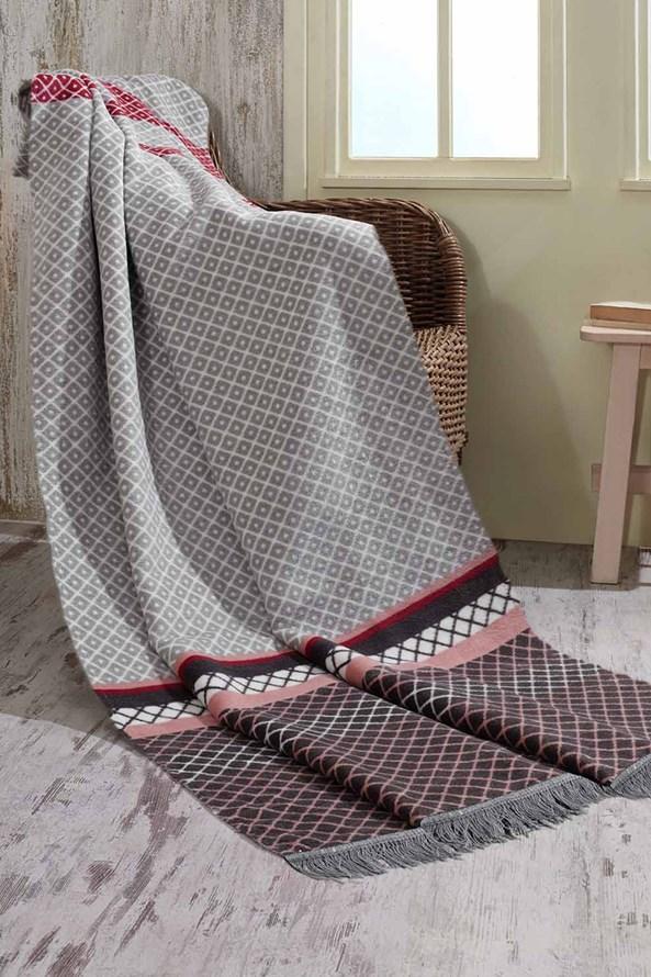 Luksusowy bawełniany koc Modern
