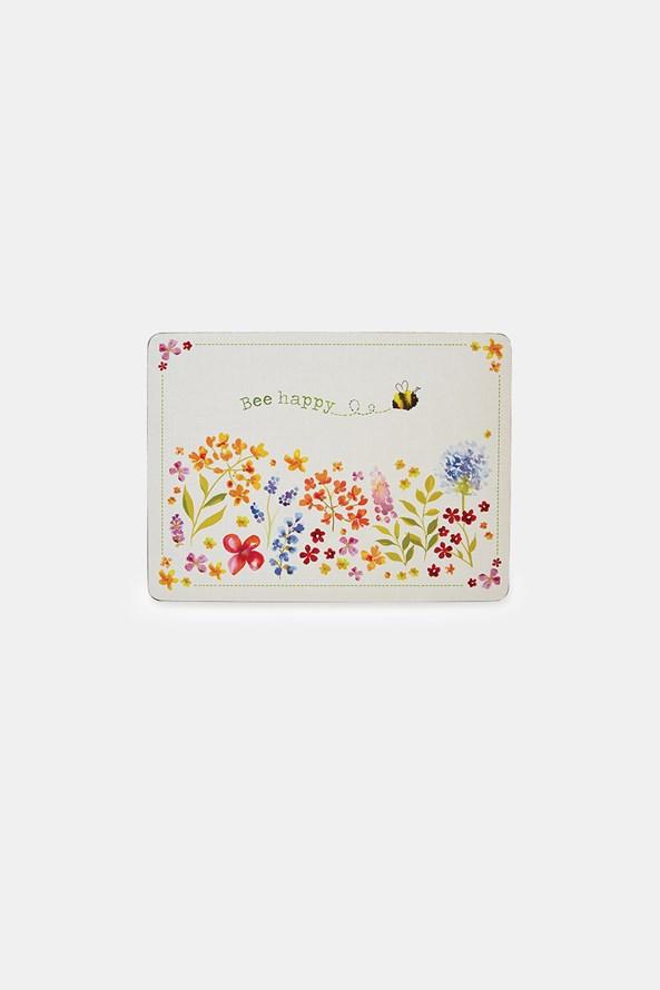 Komplet korkowych podkładek kuchennych Bee Happy