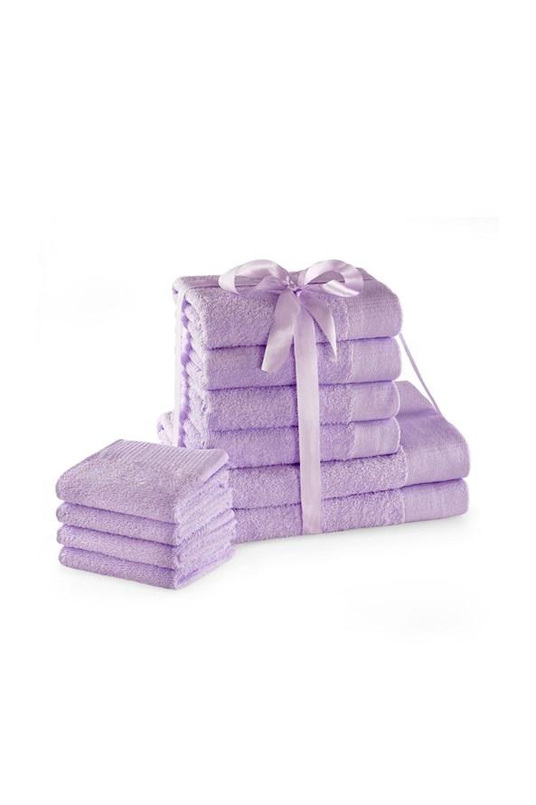 Komplet ręczników Amari Family lila