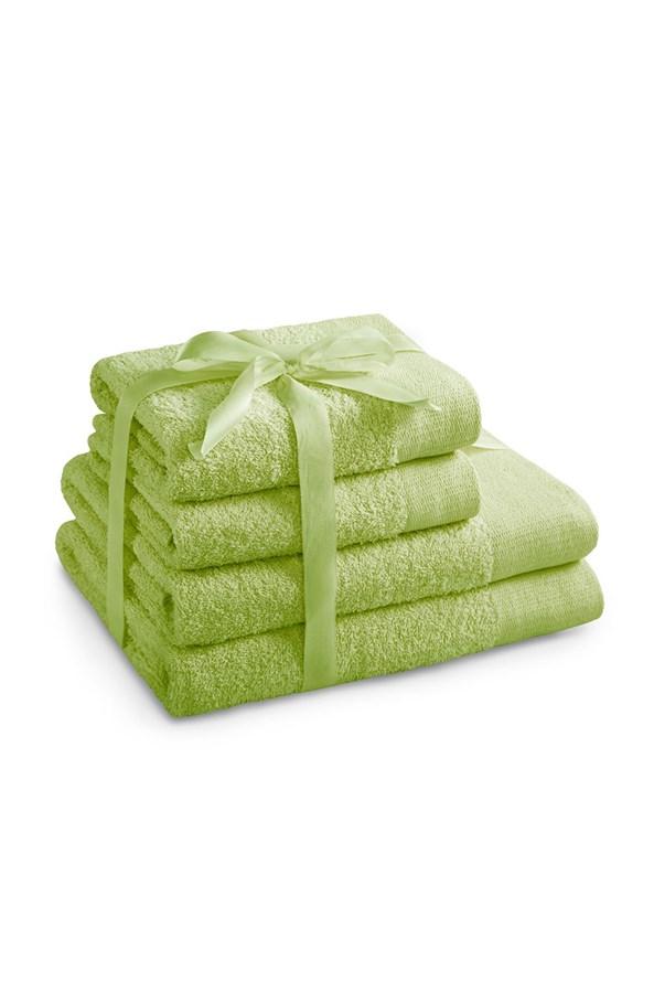 Komplet ręczników Amari limonkowy