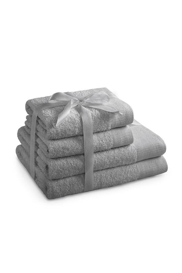 Komplet ręczników Amari szary