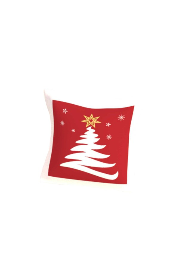 Poduszka dekoracyjna z wypełnieniem Świąteczna Choinka
