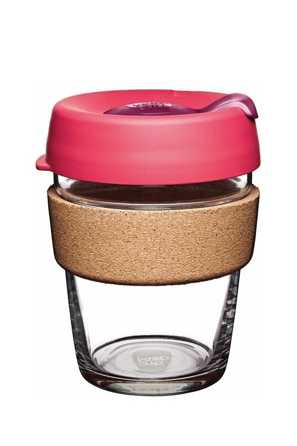 Kubek podróżny Keepcup różowy z korkiem 340 ml