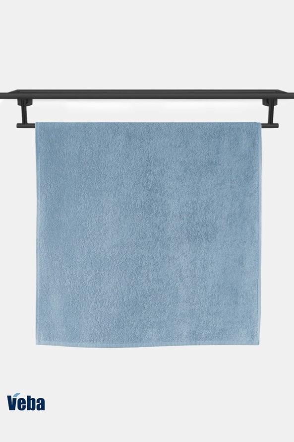 Luksusowy bambusowy ręcznik VEBA Bali niebieski