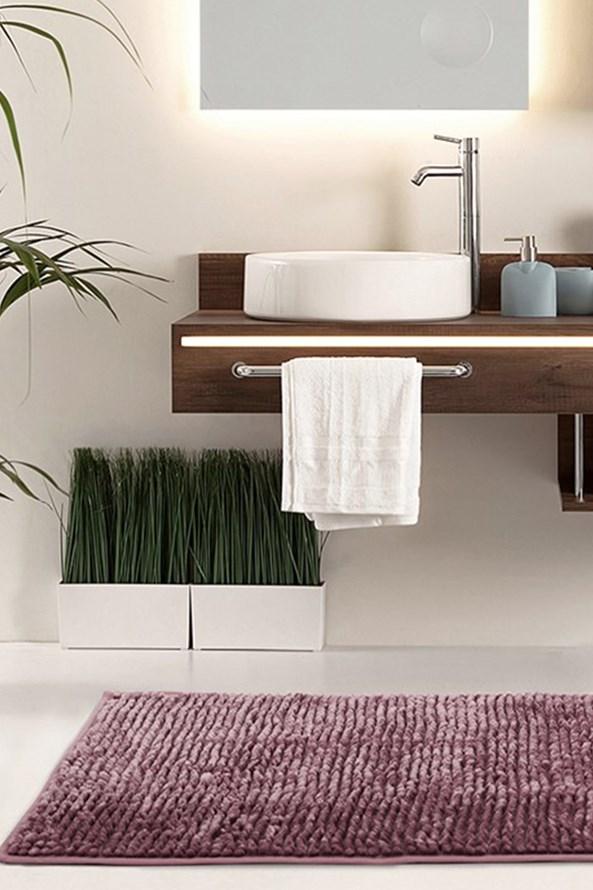 Dywanik łazienkowy Bati fioletowy