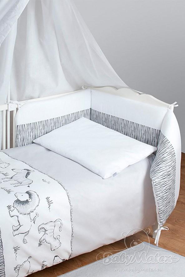 Komplet do dziecięcego łóżeczka Safari