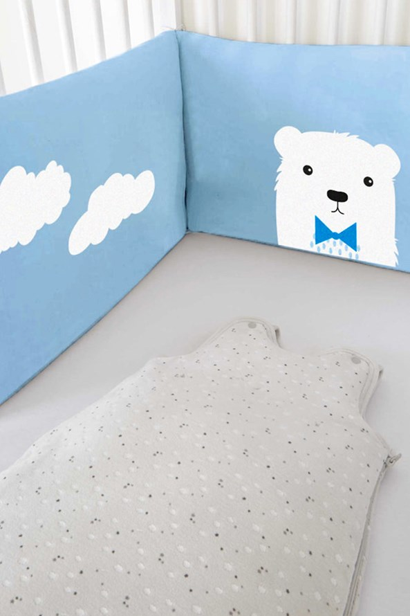 Ochraniacz do łóżeczka dziecięcego Sweet