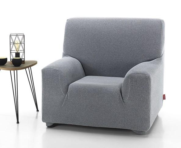 Pokrowiec na fotel Creta białoczarny