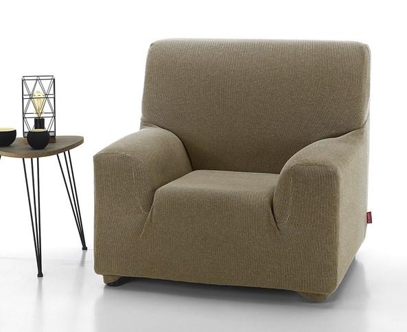 Pokrowiec na fotel Creta brązowy