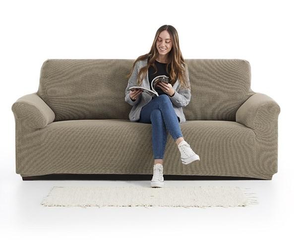 Pokrycie na sofę Creta brązowe