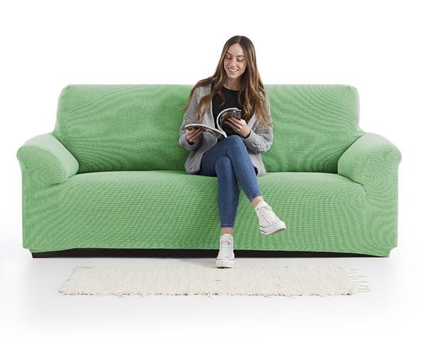 Pokrowiec na dwuosobową sofę Creta zielony