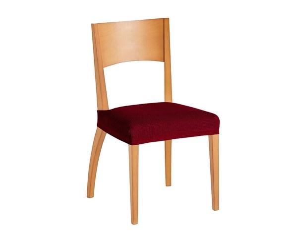 Komplet 2 pokrowców na krzesła czerwony