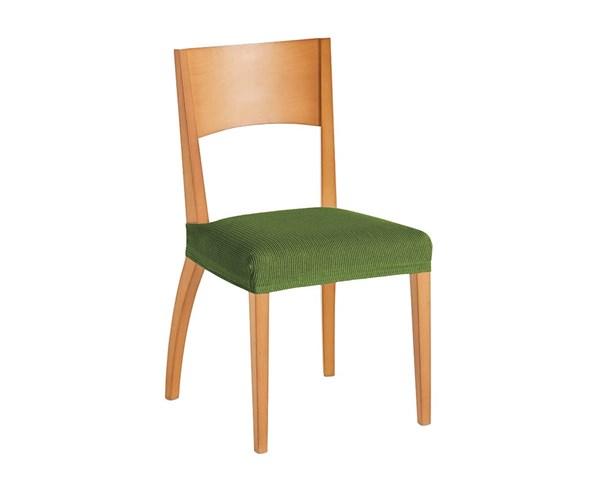 Komplet 2 pokrowców na krzesła zielony