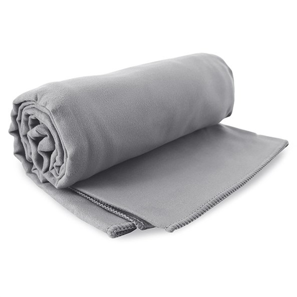 Szybkoschnący ręcznik Ekea szary