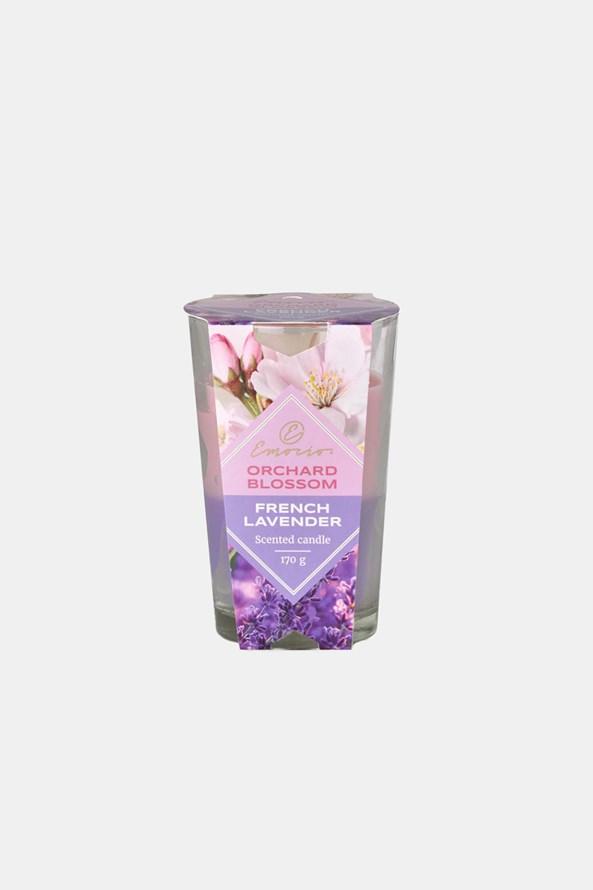 Świeczka zapachowa Orchard Blossom and French Lavender dwukolorowa