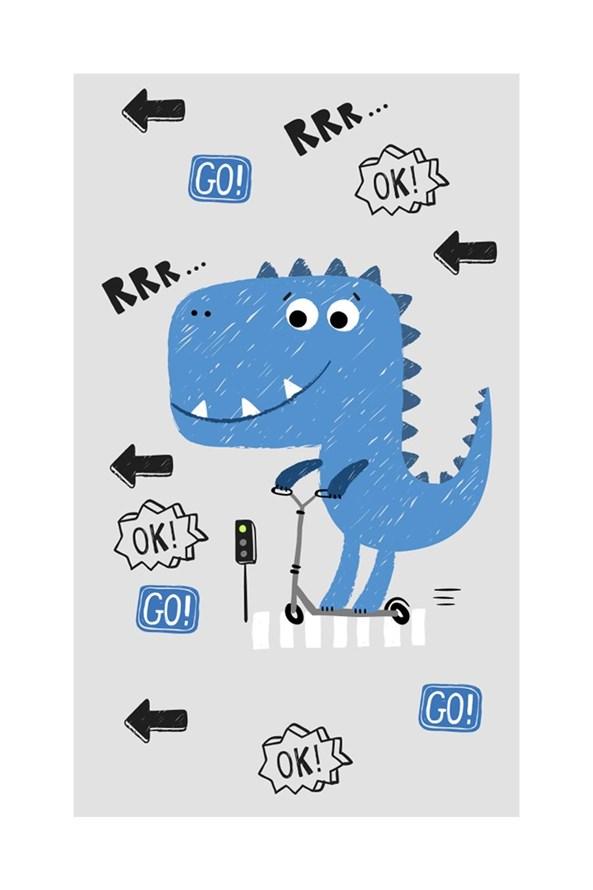 Dziecięcy ręcznik Dinozaur