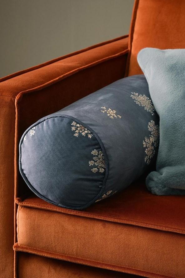 Poduszka dekoracyjna Essenza Home Lauren Indigo