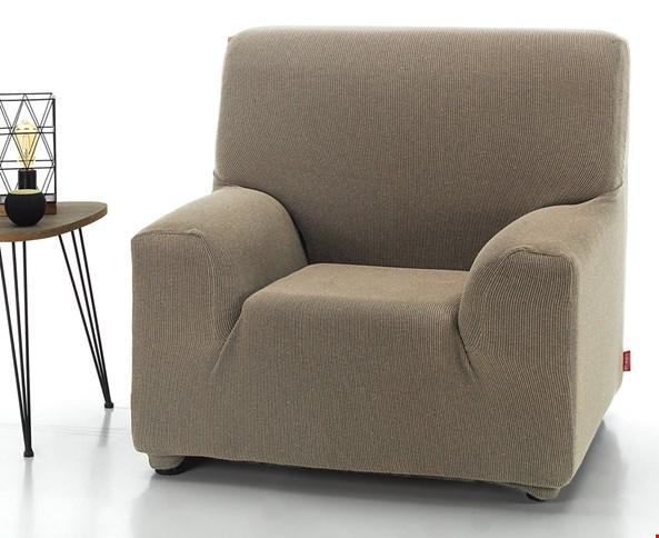 Pokrowiec na fotel Milos beżowy