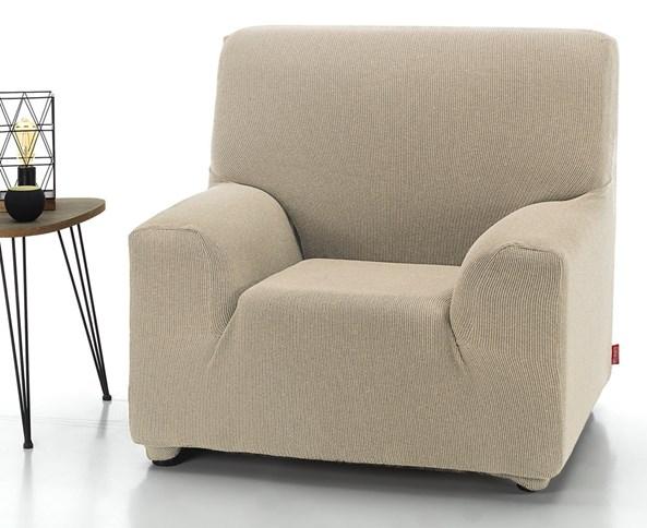 Pokrowiec na fotel Milos kremowy