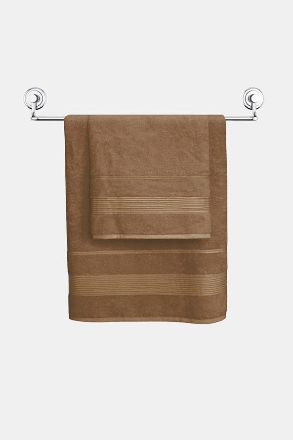 Bambusowy ręcznik Moreno brązowy