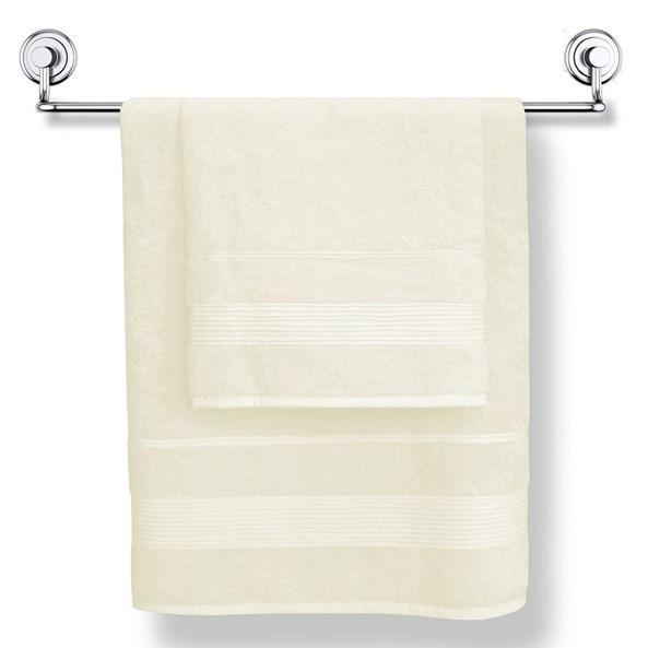 Bambusowy ręcznik Moreno kremowy