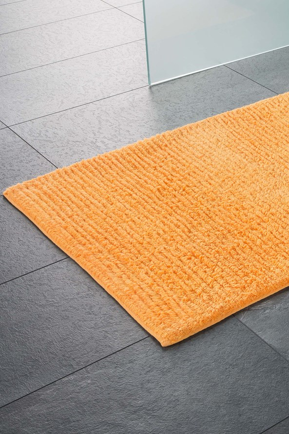 Dywanik łazienkowy Agra pomarańczowy