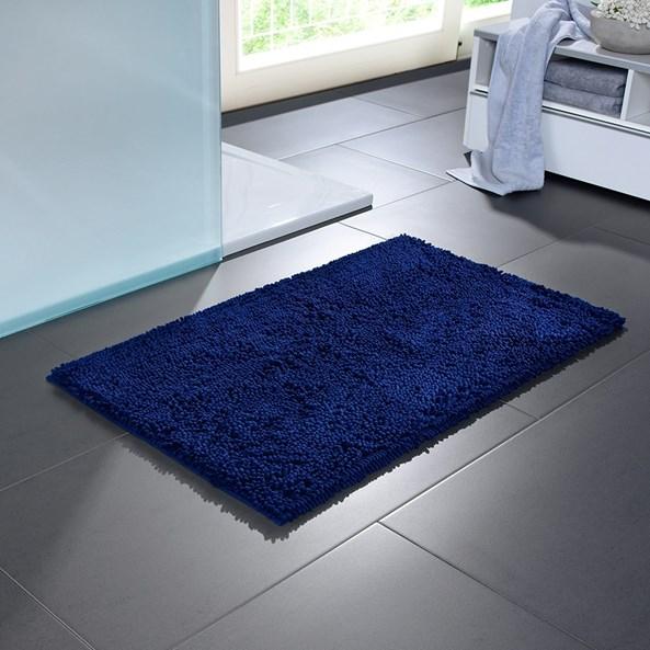 Dywanik łazienkowy Bologna niebieski
