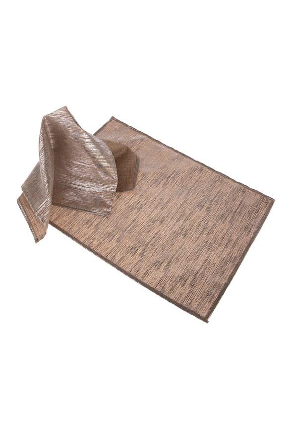 Nakrycia na stół 2 szt. - brązowe