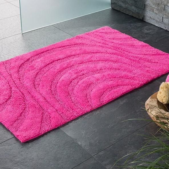 Dywanik łazienkowy Jaipur różowy