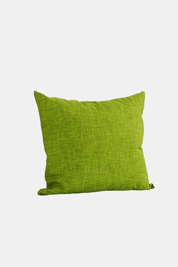 Poduszka dekoracyjna z wypełnieniem zielona