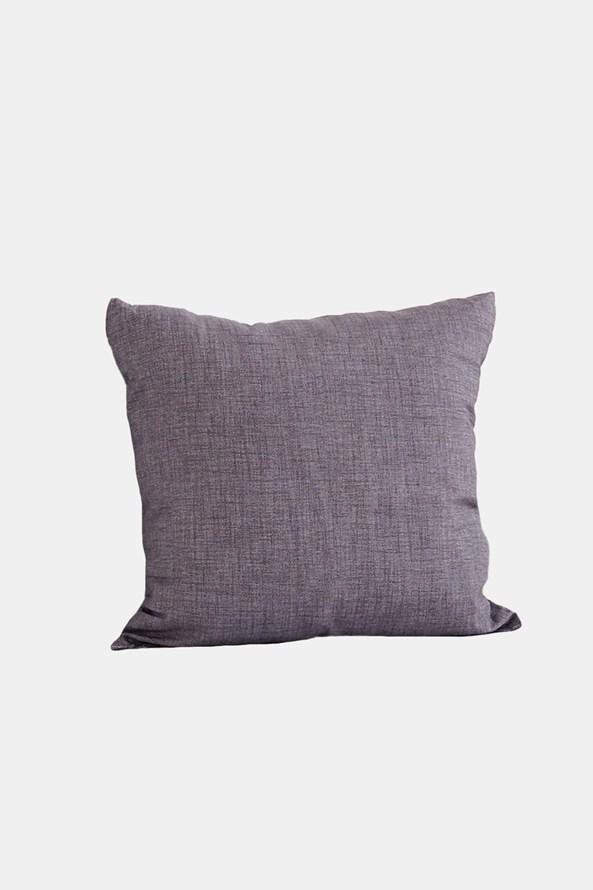 Poduszka dekoracyjna z wypełnieniem szara