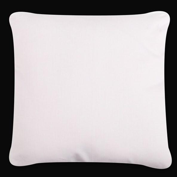 Poszewka na poduszkę Uni biała