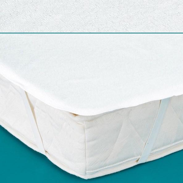 Wodoodporny ochraniacz materaca do łóżeczka dziecięcego