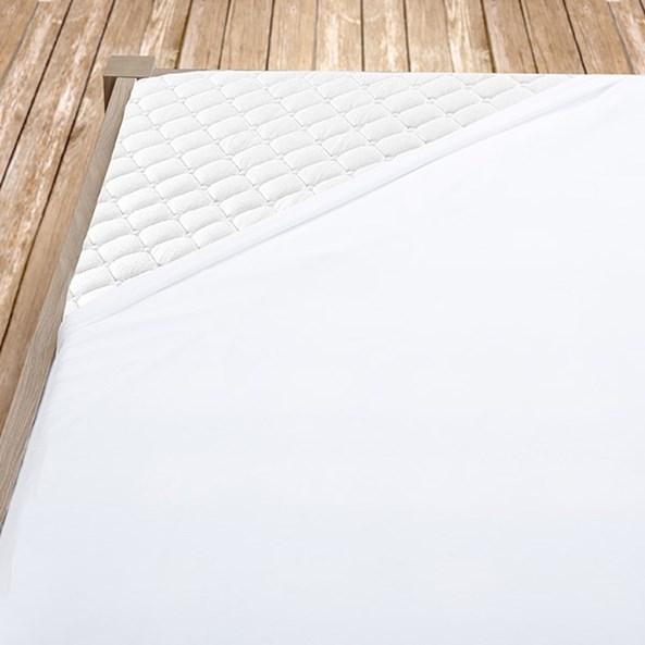 Prześcieradło bawełniane białe
