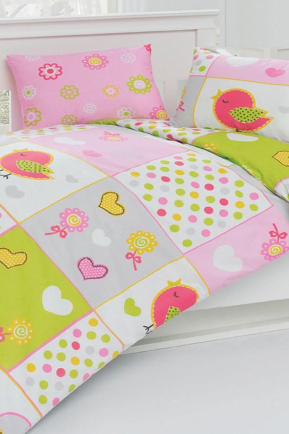 Pościel do łóżeczka niemowlęcego Ptaszki