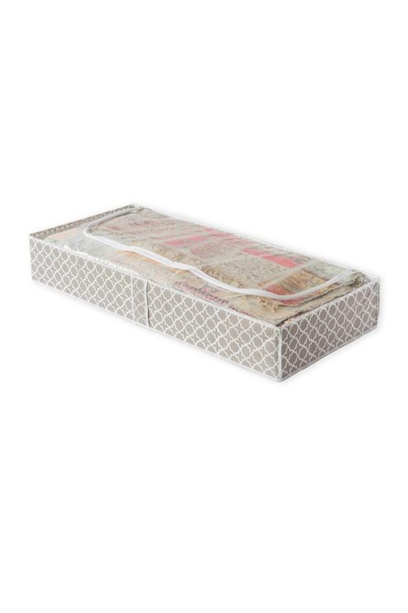 Tekstylne pudełko do przechowywania pościeli Madison