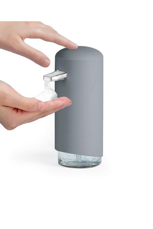 Dozownik do mydła w płynie Compactor szary
