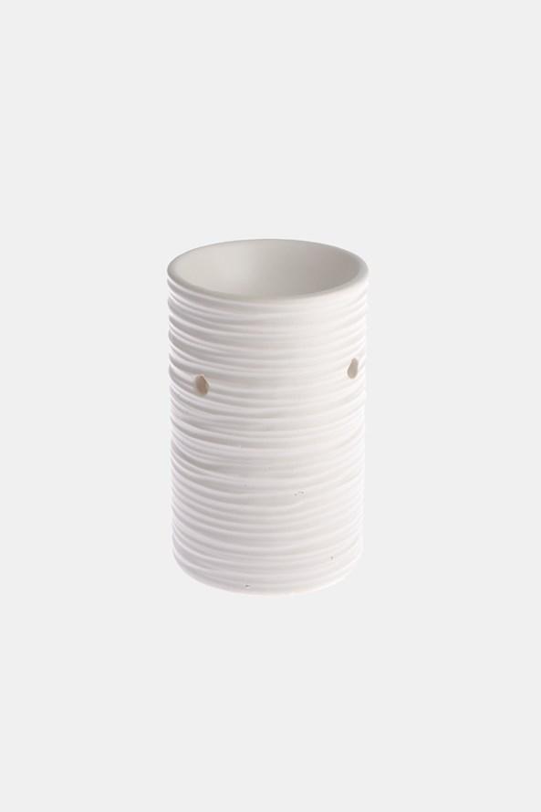 Ceramiczny kominek zapachowy biały